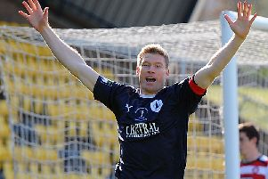 Ex-Falkirk captain Darren Dods is in the away dugout on Saturday. Picture Gary Hutchison