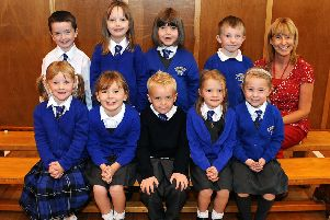 The primary one youngsters from Stenhousemuir back in 2011