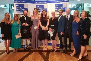 Callendar House employees collected the Tourism Attraction of the Year title at the Scottish Hospitality Awards