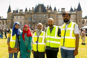 Organisers from the Falkirk Muslim Forum. Pictrues: Scott Louden