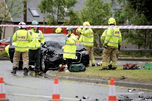 A woman was taken to hospital after an earlier accident on July 31 (Picture: Micahel Gillen)