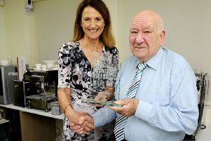 Bo'ness coffee man receives new Lifetime Achievement award