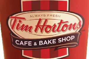 Tim Hortons set to open in Stenhousemuir in a matter of weeks