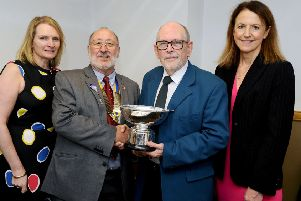 Polmont pensioner named community champ by Falkirk Rotary Club