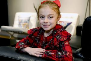 Maddiston dancer Amelia (7) is one of the Strictly Kids raising cash for STV Children's Appeal
