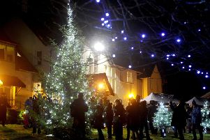Special lights shine in the gardens of Strathcarron Hospice