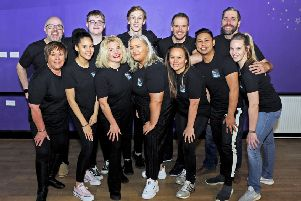 Principals get ready for Central Theatre Productions' Hairspray, which opens in Falkirk Town Hall on January 20