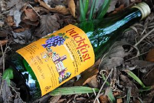 John McMillan launched a bottle of Buckfast at his mother's head
