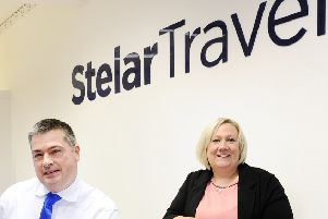 Stenhousemuir travel agency Stelar want you to join in birthday celebrations