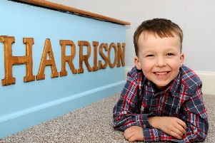 Harrison's cheeky personality won him a place on the Channel 4 show