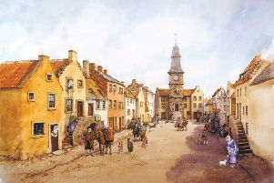 Expansion of Falkirk...and Steeple Bell was courtesy of Earl of Callendar.