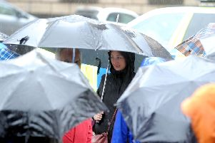Wind and rain is forecast to hit large parts of the country today and tomorrow