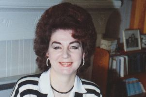 Author Eileen Townsend, a former owner.