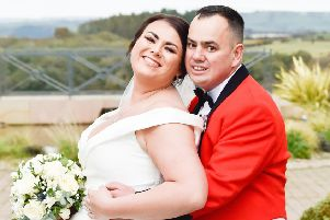Wedding of the week: Moira Knudsen and Adrian Wallace