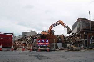 Bainsford's Big Bar has almost gone as demolition continues
