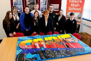 First Minister meets Falkirk youngsters in care