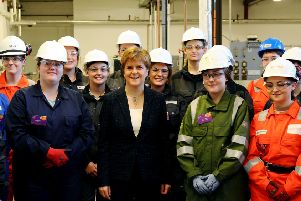 First Minister meets Scotland's future workforce in Falkirk