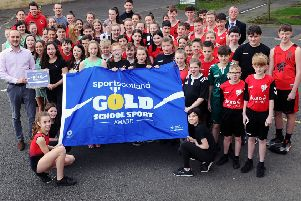 Top sports award for Falkirk school
