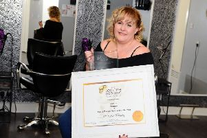 Linzi Grant of LMG Hair and Beauty was a winner at the Scottish Wedding Awards
