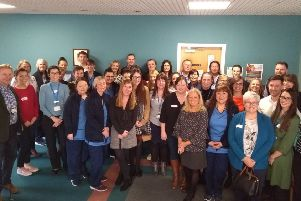 New healthcare staff who have been recruited to support GP Practices across Forth Valley.