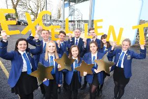 Larbert High School shortlisted for top education award