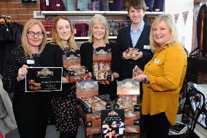 Mrs Tilly's sweet boost for Strathcarron Hospice