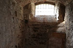 Creepy locations like Stirlings' old town jail are prime territory for a ghost hunt.