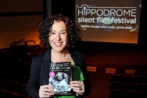 Alison Strauss, director of the Hippodrome Silent Film Festival