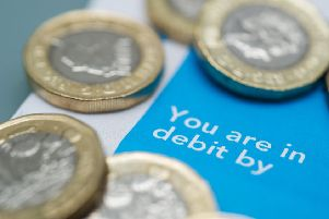 Average debts for Falkirk residents has risen by 8 per cent