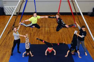 Forth Valley youngsters flying high at aerial dance workshops