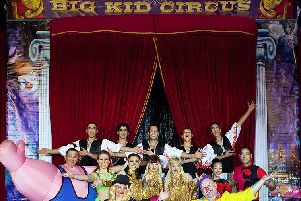 Big Kid Circus returns to Falkirk