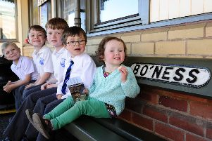 Easter fun at Bo'ness and Kinneil Railway