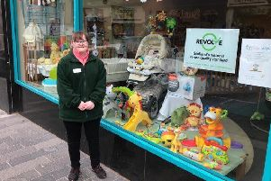 Quality thumbs up for Falkirk store Baby Steps