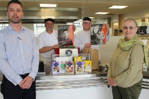 Falkirk college gears up for grub without gluten