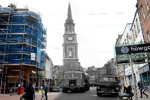 In pictures: Falkirk in the 1960s then and now