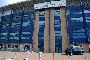 Town businesses are hoping attendances at The Falkirk Stadium will pick up next season if the club performs well in Scottish League One. Picture: Michael Gillen