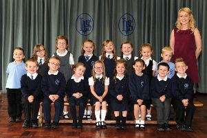 In Pictures: This year's primary school leavers in Falkirk district as they looked in P1 back in 2012