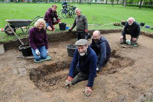 Archaeological dig unearths Grangemouth's past