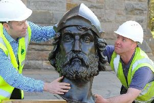 William Wallace heads home after £260k makeover