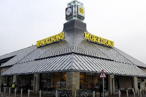 Food supplies to Falkirk's Morrisons store could be hit by strikes at logistics firm