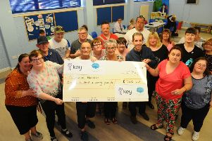 Disability charity plays 'Key' role in Falkirk community