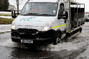 Amber flood warning issued for Falkirk district