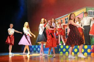 Grangemouth High School perform Hairspray the Musical from June 12-14 at 7 pm. Pictures by Michael Gillen.