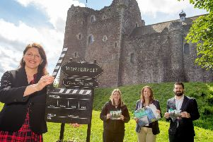 Stirling is making the most of the tourism opportunities provided by heritage sites that have starred in movies - like Doune Castle, used as a set for Game of Thrones.