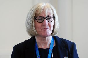 NHS Forth Valley chief executive Cathie Cowan.