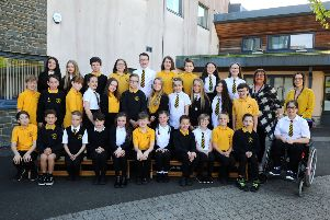 In pictures: Primary 7 classes from Falkirk district schools