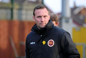 Colin McMenamin will be looking to restore Stenhousemuir's League One status. Picture: Michael Gillen