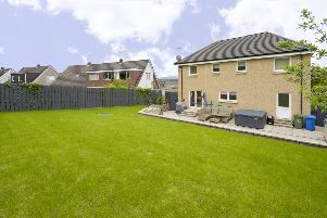 Property: Spacious modern family home in Falkirk with individual designer touches