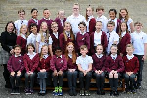 Comely Park Primary's P7 class