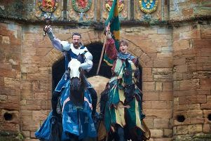 Jousters and jesters set for weekend mayhem at the Palace